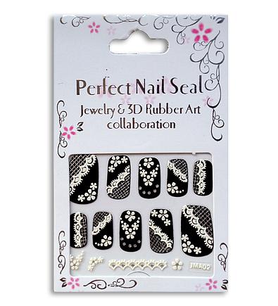 Decoratiuni unghii 3D Negru