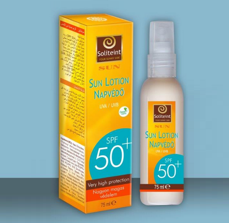 Lotiune protectoare 75ml SPF 50 Soliteint