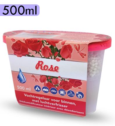 Dezumidificator aroma trandafiri