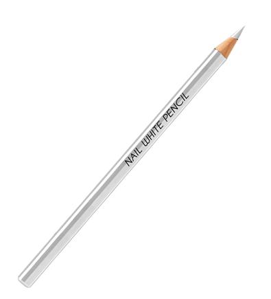 Creion alb pentru unghii