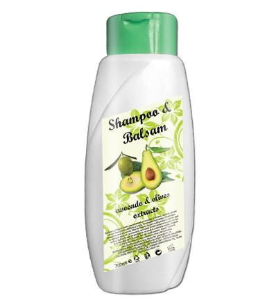 Sampon balsam avocado si masline 700 ml
