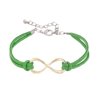 Bratara Infinity verde deschis
