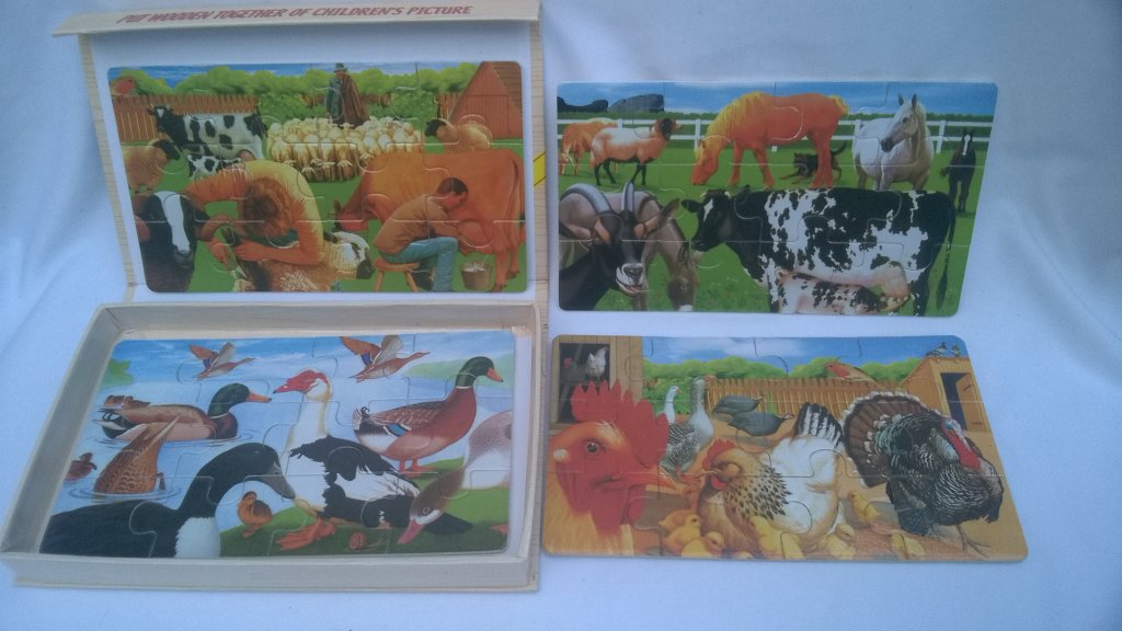 Set Puzzle animale 1