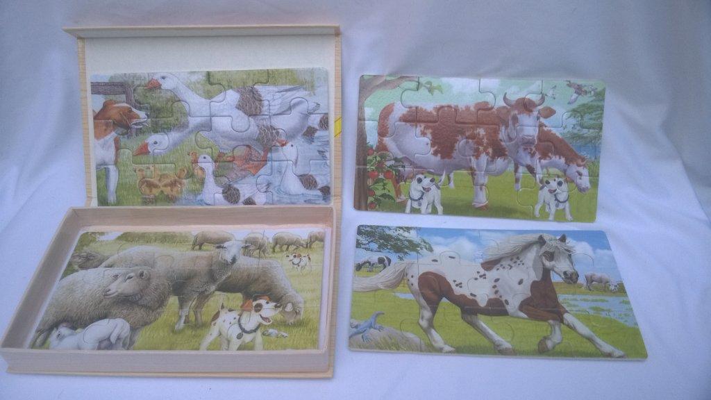 Set Puzzle animale 2