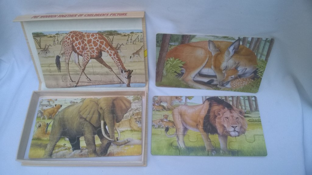 Set Puzzle animale 3