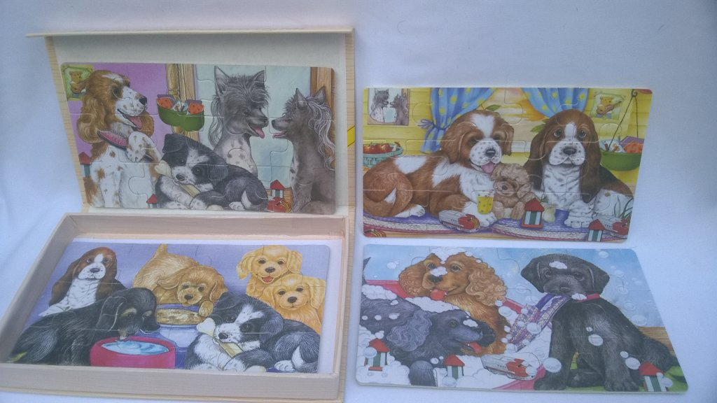 Set Puzzle animale 4