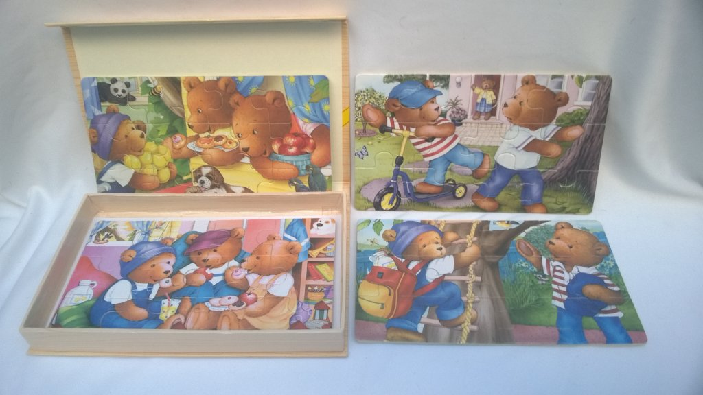 Set Puzzle animale 5