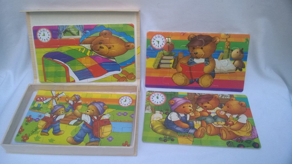 Set Puzzle animale 6