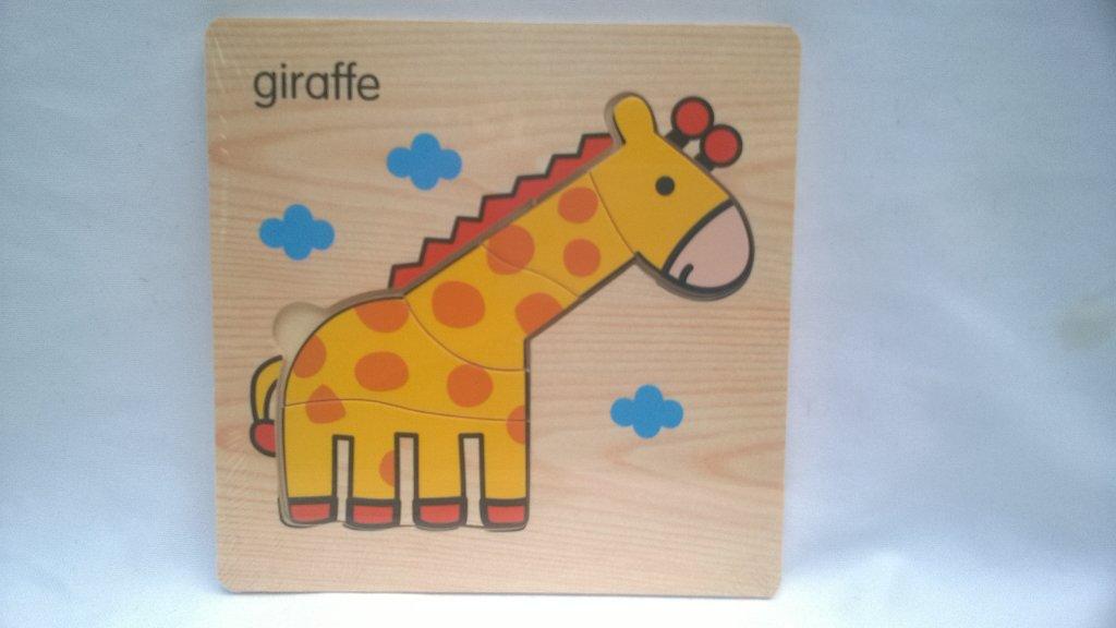 Puzzle copii girafa