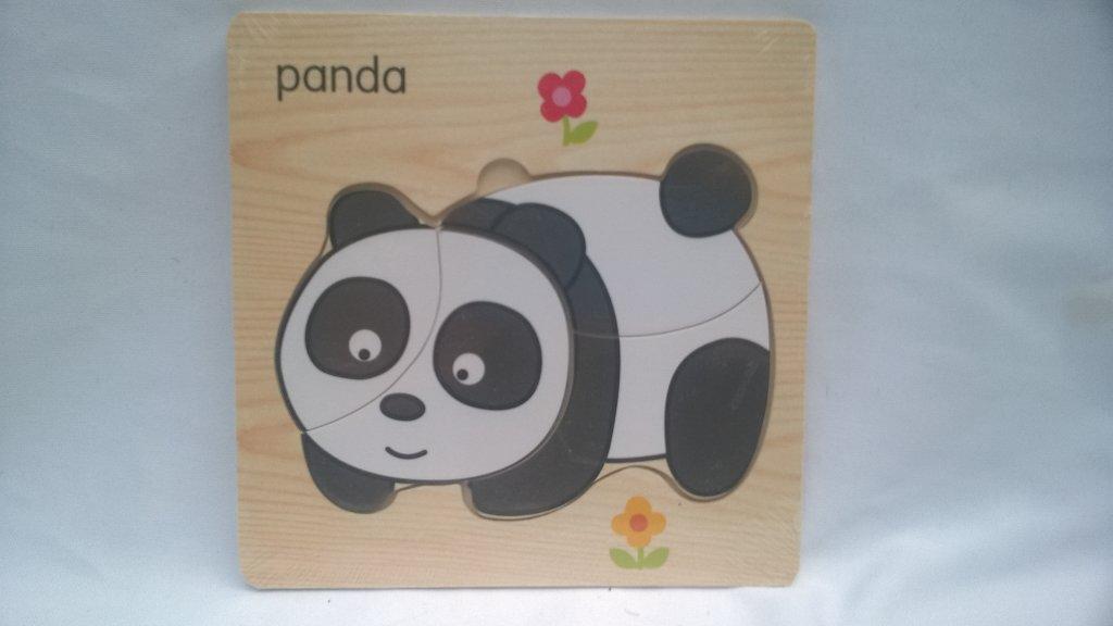 Puzzle copii panda