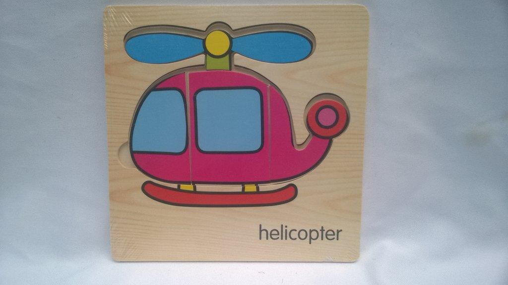 Puzzle copii elicopter
