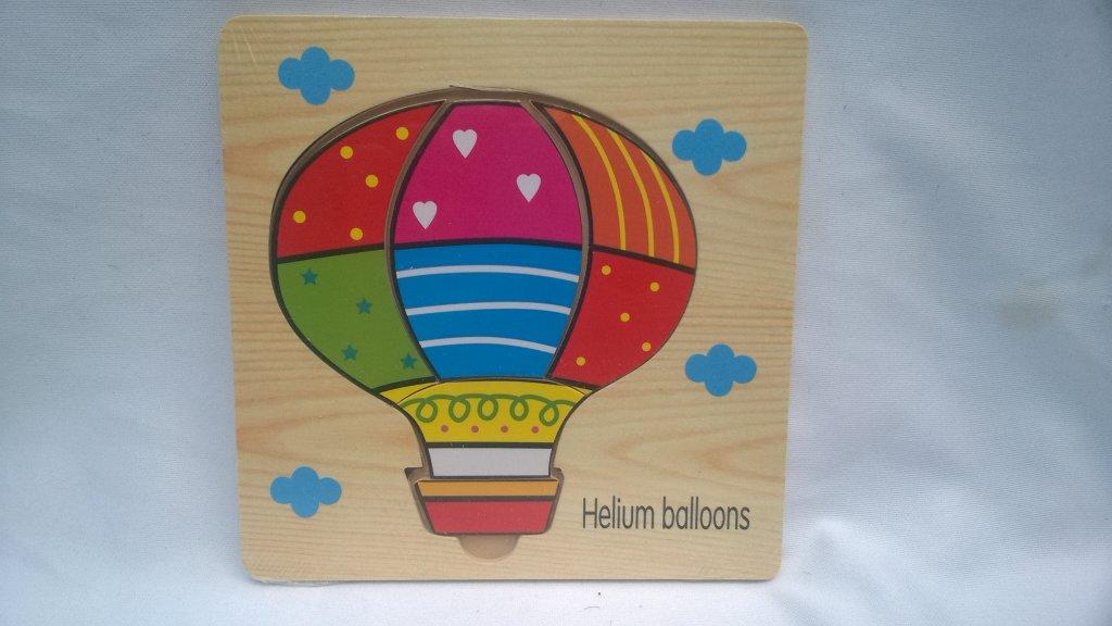Puzzle copii balon aer
