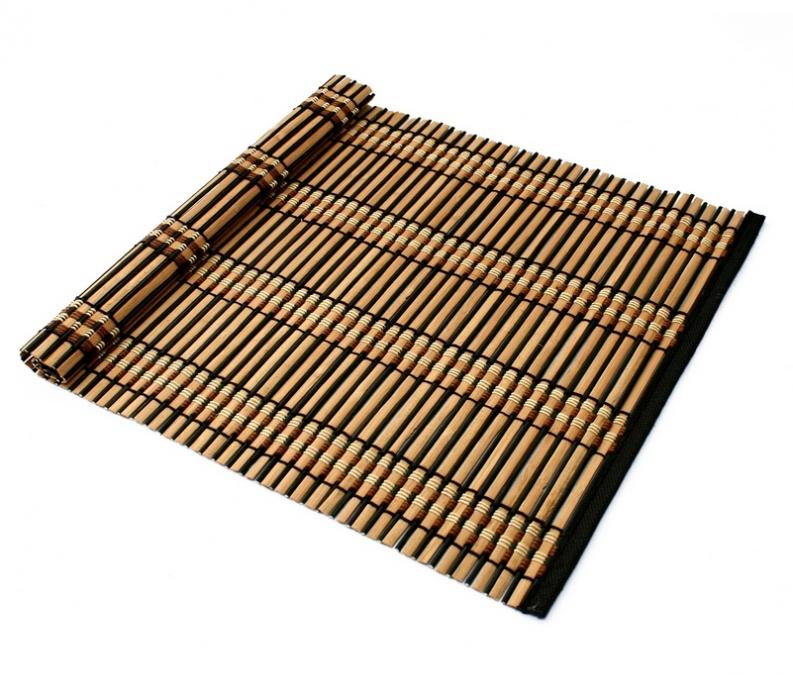Suport farfurie bambus