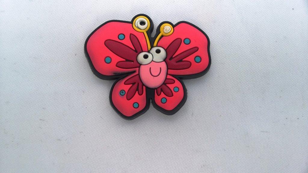 Magnet frigider fluture