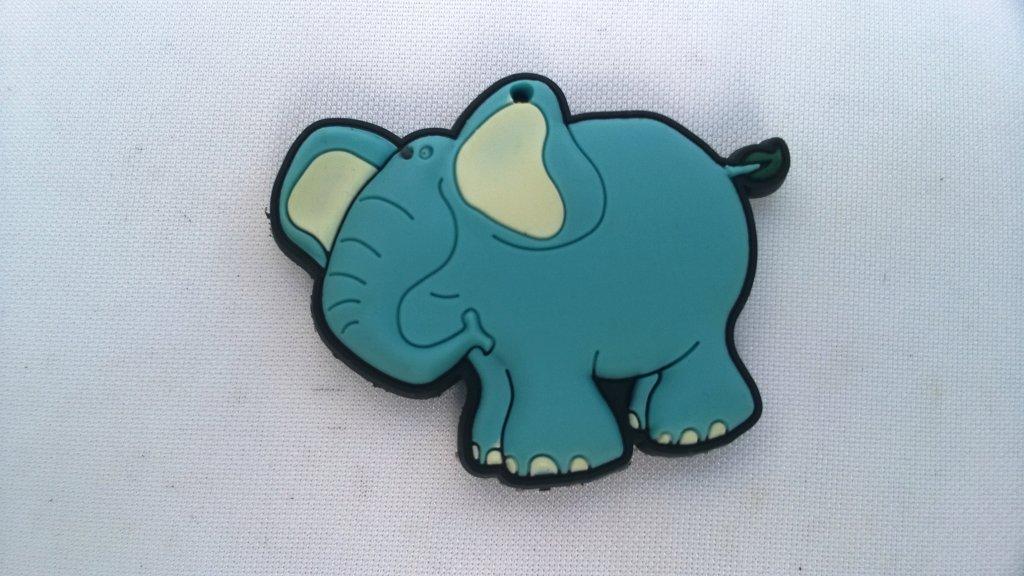 Magnet frigider elefant