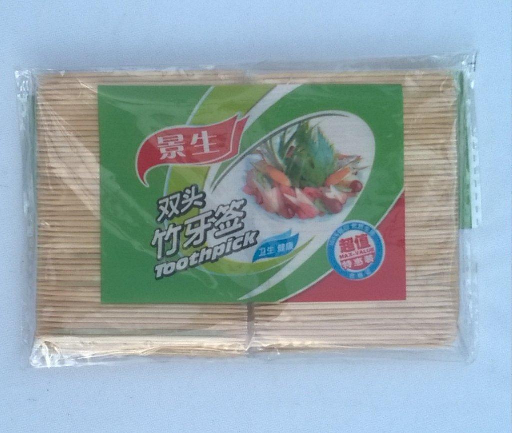 Set rezerva scobitori bambus