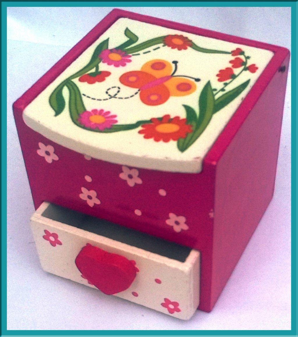 Cutie bijuterii cu sertar