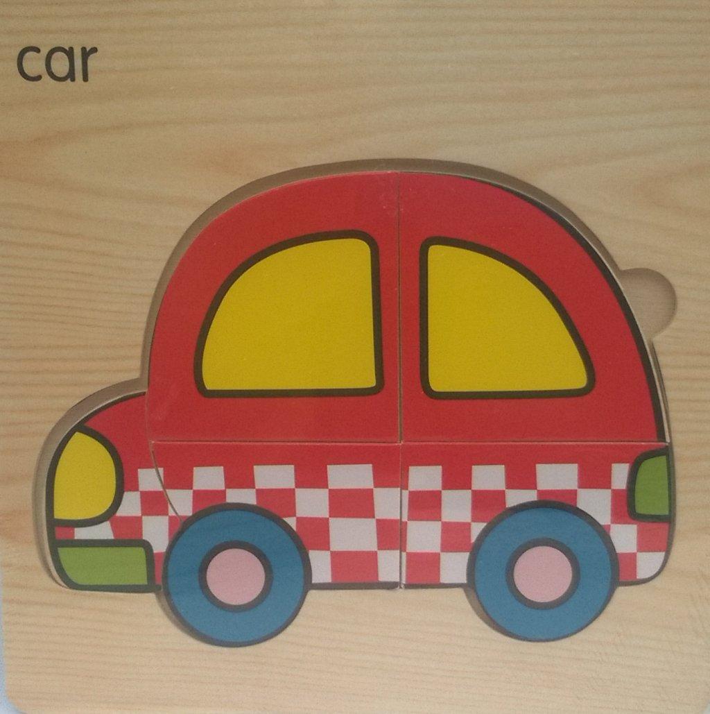 Puzzle copii masina