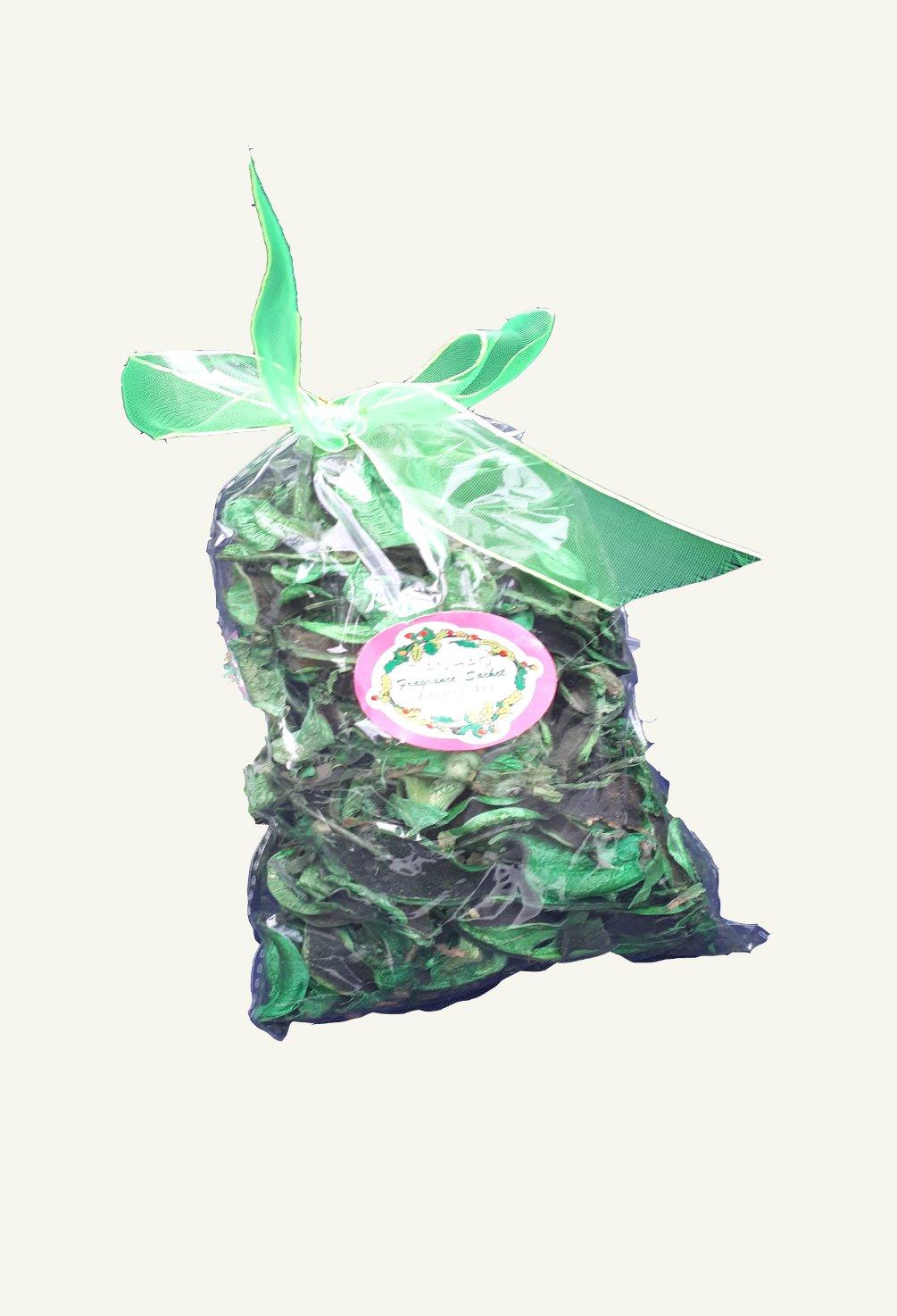 Petale uscate decorative verde