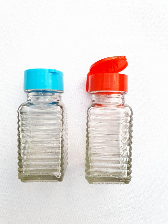 Recipient solnita /pipernita  capac plastic