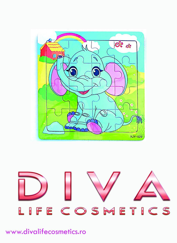 Puzzle copi 15 cm elefantul