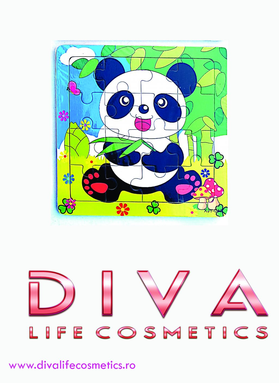 Puzzle copi 15 cm urs panda