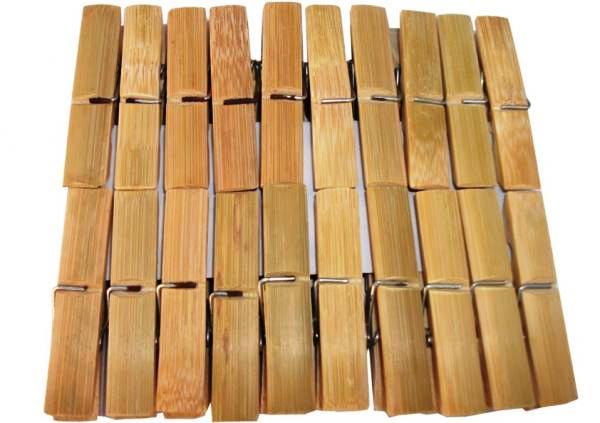 Cleme rufe  bambus set 20