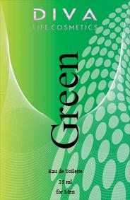 Apa de toaleta 35 ml Green