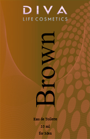 Apa de toaleta 35 ml Brown