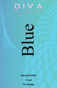 Apa de toaleta 35 ml  Blue pentru Ea