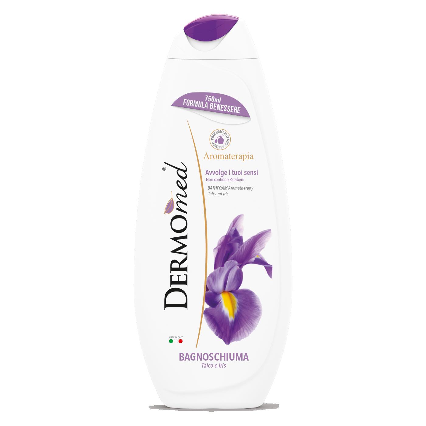 Gel de dus Dermomed Floare de iris 750 ml