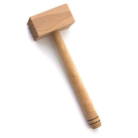 Ciocan din lemn pentru snitel, carne