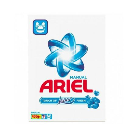 Detergent rufe manual Ariel Lenor Fresh 450g