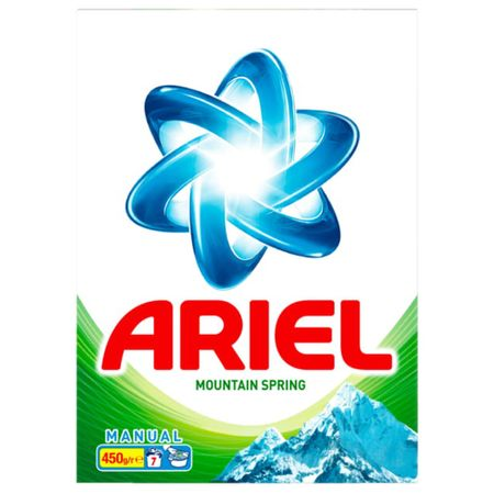 Detergent rufe manual Ariel Mountain Spring