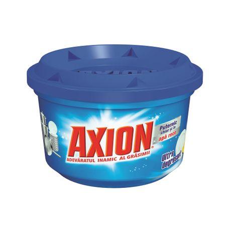 Pret Fix ! Detergent de vase pasta Axion ultra degresant 225 g