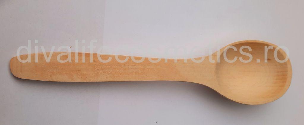 Lingura lemn mica 20 cm