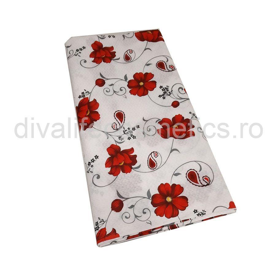 Set Lenjerie Pat 4 Piese Floare 160 cm