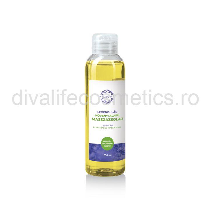 Ulei de masaj cu LAVANDA – Yamuna – 250 ml