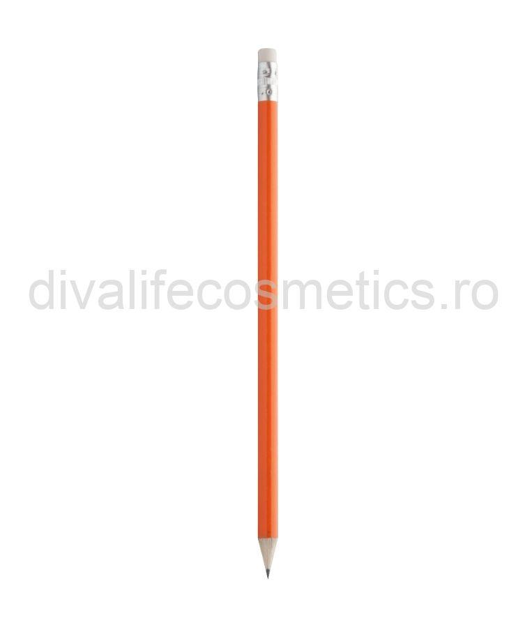 Creion HB cu radiera