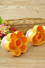 Forma prajitura floare plastic - 2