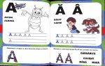 Invatam alfabetul A4 - 5